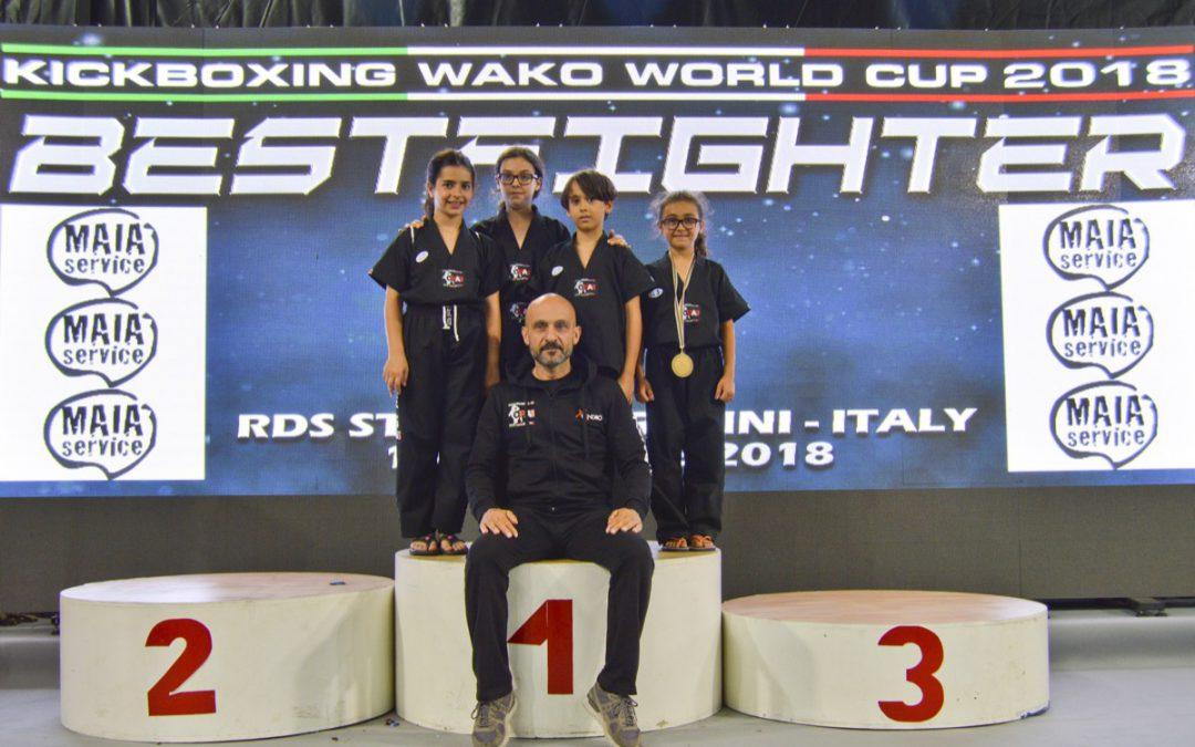 La Coppa del Mondo WAKO 2018, i migliori Fighters