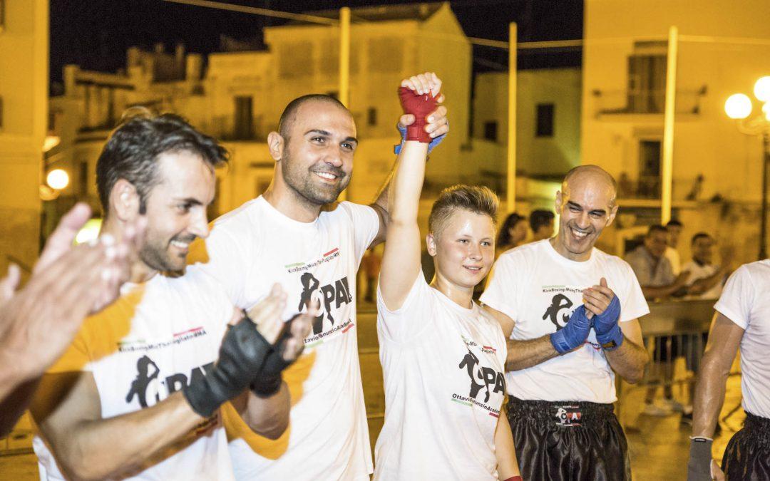 Esibizione di Kick Boxing – Muay Thai a Palo del Colle