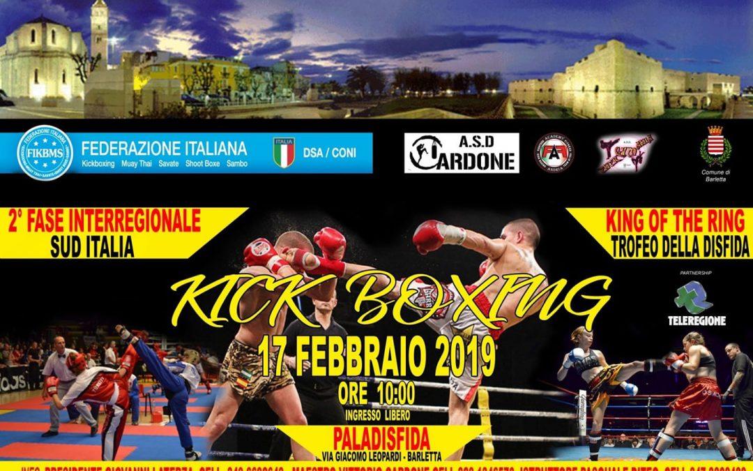2^ Fase Interregionali di Kick Boxing